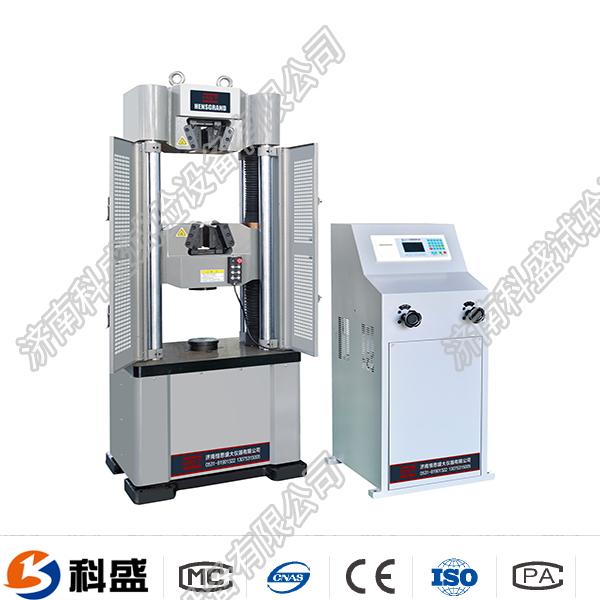 连州市WE-100B(D)液晶数显式液压万能试验机